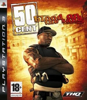 Jaquette 50 cent blood on the sand playstation 3 ps3 cover avant g