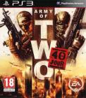 Jaquette army of two le 40eme jour playstation 3 ps3 cover avant g