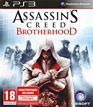 Jaquette assassin s creed brotherhood playstation 3 ps3 cover avant g