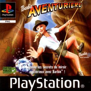 Jaquette barbie aventuriere playstation ps1 cover avant g 1304768313