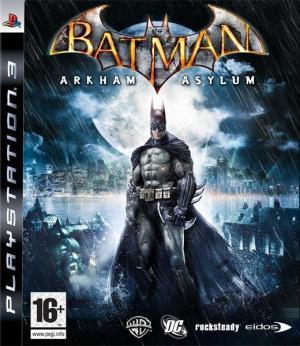 Jaquette batman arkham asylum playstation 3 ps3 cover avant g