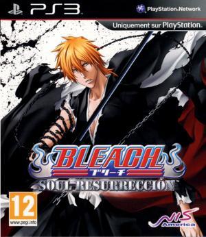 Jaquette bleach soul resurreccion playstation 3 ps3 cover avant g 1316012129