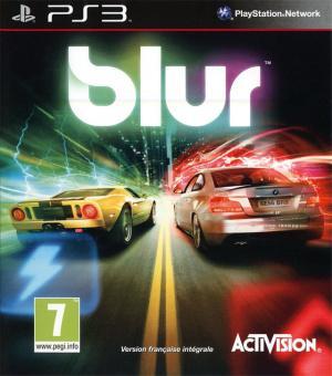 Jaquette blur playstation 3 ps3 cover avant g