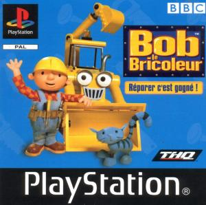 Jaquette bob le bricoleur playstation ps1 cover avant g