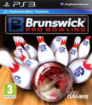 Jaquette brunswick pro bowling playstation 3 ps3 cover avant g 1304688480