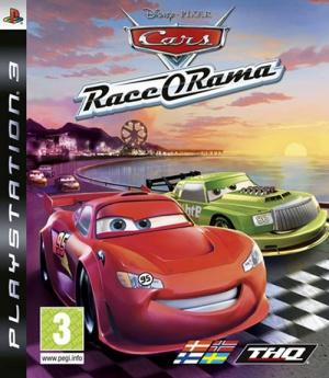 Jaquette cars race o rama playstation 3 ps3 cover avant g