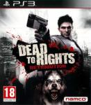Jaquette dead to rights retribution playstation 3 ps3 cover avant g