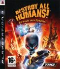 Jaquette destroy all humans en route vers paname playstation 3 ps3 cover avant g