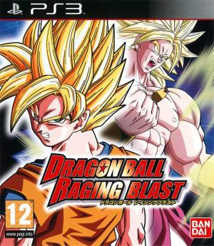 Jaquette dragon ball raging blast playstation 3 ps3 cover avant g