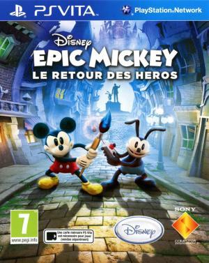 Jaquette epic mickey le retour des heros playstation vita cover avant g 1371799409