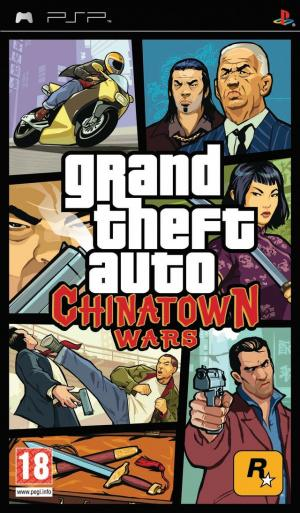 Jaquette grand theft auto chinatown wars playstation portable psp cover avant g