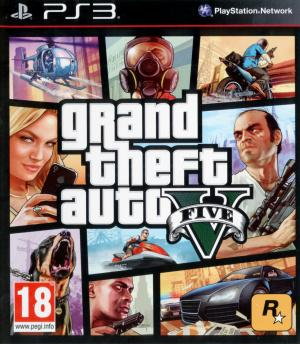 Jaquette grand theft auto v playstation 3 ps3 cover avant g 1379488456