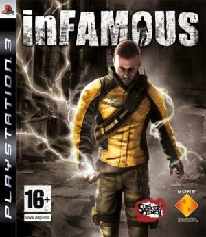 Jaquette infamous playstation 3 ps3 cover avant g