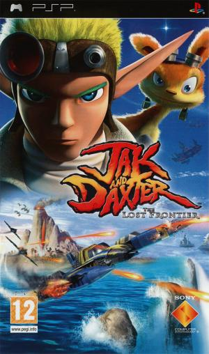 Jaquette jak and daxter the lost frontier playstation portable psp cover avant g