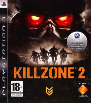 Jaquette killzone 2 playstation 3 ps3 cover avant g