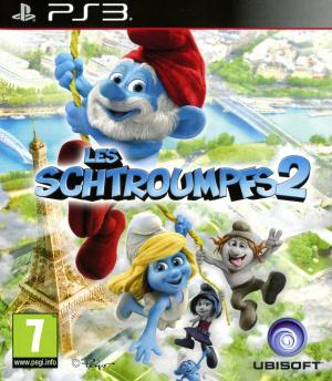 Jaquette les schtroumpfs 2 playstation 3 ps3 cover avant g 1374670497