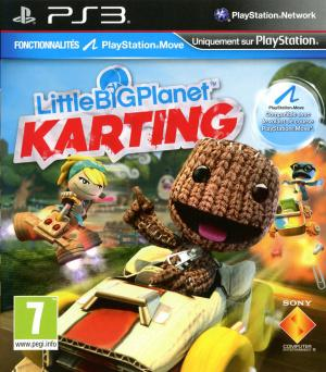 Jaquette littlebigplanet karting playstation 3 ps3 cover avant g 1352208389