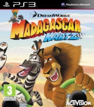 Jaquette madagascar kartz playstation 3 ps3 cover avant g