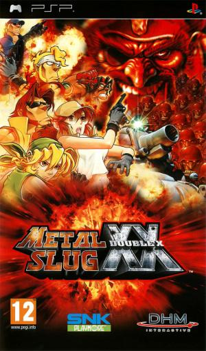 Jaquette metal slug xx playstation portable psp cover avant g