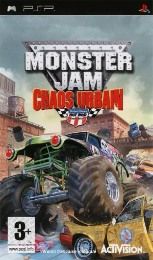 Jaquette monster jam urban assault playstation portable psp cover avant g