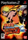 Jaquette naruto shippuden ultimate ninja 4 playstation 2 ps2 cover avant g