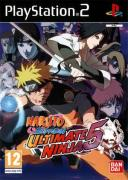Jaquette naruto shippuden ultimate ninja 5 playstation 2 ps2 cover avant g