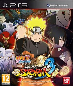 Jaquette naruto shippuden ultimate ninja storm 3 playstation 3 ps3 cover avant g 1360944074