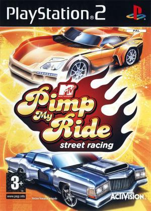 Jaquette pimp my ride street racing playstation 2 ps2 cover avant g