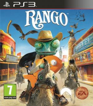 Jaquette rango playstation 3 ps3 cover avant g 1297458943