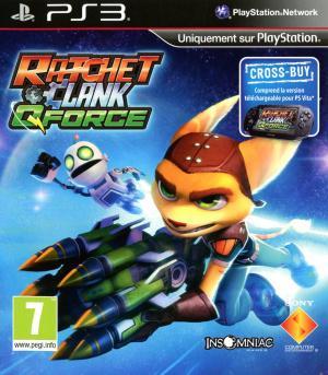 Jaquette ratchet clank qforce playstation 3 ps3 cover avant g 1354110144