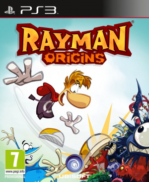 Jaquette rayman origins playstation 3 ps3 cover avant g 1311070114
