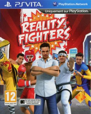 Jaquette reality fighters playstation vita cover avant g 1331043940