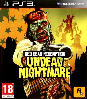 Jaquette red dead redemption undead nightmare playstation 3 ps3 cover avant g