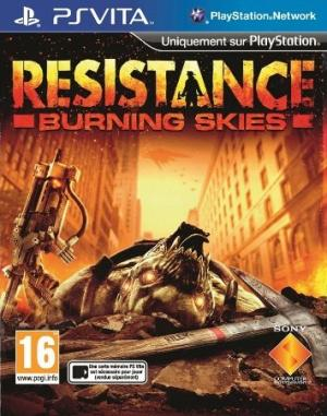 Jaquette resistance burning skies playstation vita cover avant g 1336137528