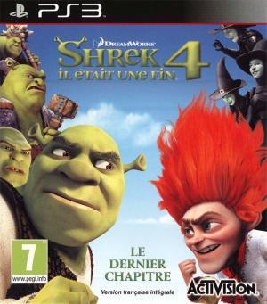 Jaquette shrek 4 il etait une fin playstation 3 ps3 cover avant g