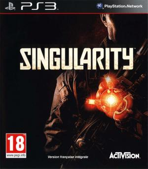 Jaquette singularity playstation 3 ps3 cover avant g