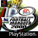 Jaquette the f a premier league football manager 2000 playstation ps1 cover avant g
