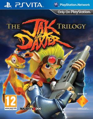 Jaquette the jak and daxter trilogy playstation vita cover avant g 1371480116