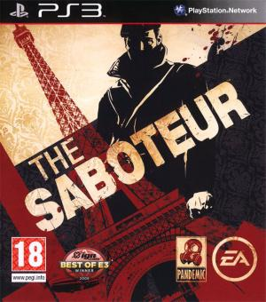 Jaquette the saboteur playstation 3 ps3 cover avant g