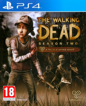 Jaquette the walking dead saison 2 playstation 4 ps4 cover avant g 1415626212
