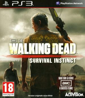 Jaquette the walking dead survival instinct playstation 3 ps3 cover avant g 1363786608