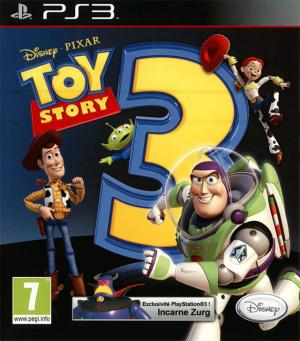 Jaquette toy story 3 playstation 3 ps3 cover avant g