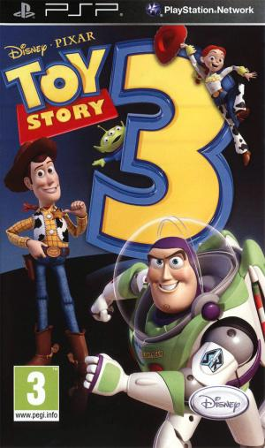 Jaquette toy story 3 playstation portable psp cover avant g