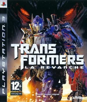 Jaquette transformers la revanche playstation 3 ps3 cover avant g