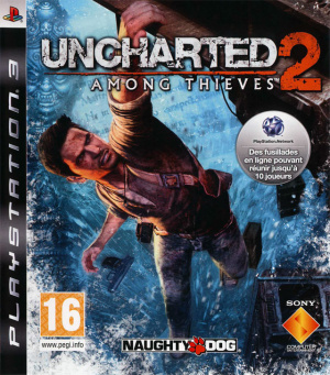 Jaquette uncharted 2 among thieves playstation 3 ps3 cover avant g