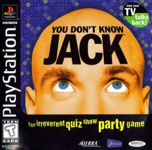 Jaquette you don t know jack playstation ps1 cover avant g